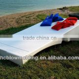 OEM Blow Molding Plastic Floating Boat Dock Float Ski Floating Dock HDPE Plastic Pontoon