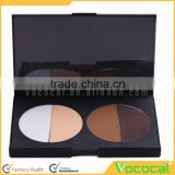 Palette 4 Colors Makeup Highlight Contour Concealer Face Powder