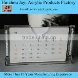 Factory Supply Custom Desk Calendar Stand/Plastic Calendar