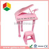 Musical Instruments kids mini pink piano toys with EN71