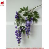 Hottest Artificial Wisteria Flowers For Wedding Decoration Restaurant Decorative Artificial Flower Wisteria