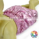 Cheap High Quality Pink Newborn Baby Diaper Bloomers Sequin Baby Girls Nappy Bloomers Ruffle Bloomers For Kids