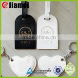 Wholesale stainless steel cable wir luggage tag loop