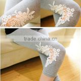 W10326G 2015 custom high quality maternity wear wholesale embroidery maternity clothes maternity pants for pregnant women
