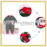 0-3 month sleeveless one sies sleeveless Santa Claus baby romper clothes BB052