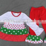 Children clothing 2016 baby frock cutting stripe printing kids clothes girls dress outfits baby cotton frocks dsigns