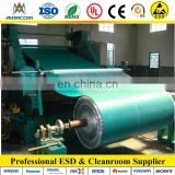 two layers ESD mat Dull or Shiny rubber green antistatic mat