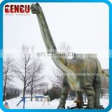 foam steel static dinosaur on playground