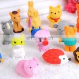 lovely gift 3d eraser small animals eraser