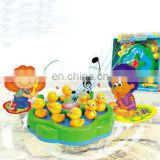 fishing game set children play duck fishing game