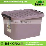 2014 hot sale plastic storage container with lid 25L