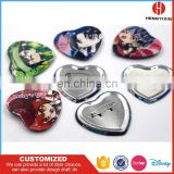 Handmade Quality Manufactory Heart, Star button badge/Tin Button Badge For Promotion/Party