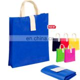 promotion new Foldable Polyester/Nylon Shopping Bag with Self Material Pouch