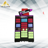 OEM Touch Screen Lipstick Cosmetic Prize Game Gift Vending Machines With Adverting Display
