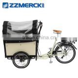 Utility electric delivery cargo bike