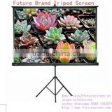 Good quality tripod 120 projection screen for video projector