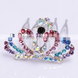 Mexico Hot sale model FZZ-048 Holloween hair tiara crown Corona