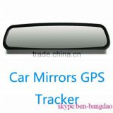 2013 Rear View Mirror Style Quad-band Car GPS Tracker with Oil/Power Cutting & Resume by SMS