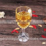hot selling fancy champagne flutes wholesale Goblet wine glass cup china manurfacture