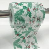OEM Custom printed toilet paper with logo