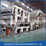 Used Paper Recycling Machine for Making 3200mm Kraft Paper/Craft Paper with Capacity of 100 tons/Day with High Performance