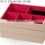 W1275I-5 Wholesale Alibaba Stackable Jewelry Display Tray Cardboard Packaging Cosmetic Box