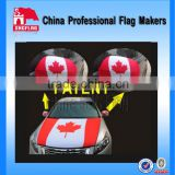 Custom car engine hood cover flag for sale advertising                                                                         Quality Choice