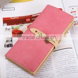 New Women Fashion Leather Card Wallet Lady Purse
