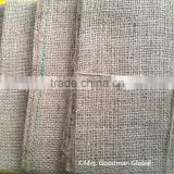 Natural Burlap / Hessian Jute Fabric / cloth