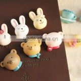 AN463 ANPHY Cute Animals Resin Household Decoration Cartoon Fridge Magnet Stand Holder Display Stock 2*2cm