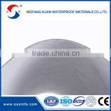 1.5mm thickness Light grey color clear pvc sheeting roll for roof basement waterproofing
