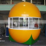 2015 newly designed elegant style frozen yogurt kiosk for sale bubble tea kiosk design ice cream kiosk