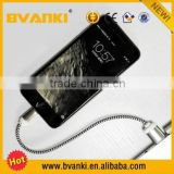 wholesale 3m 10ft sync data/charging fabric nylon braided usb charger cable for iphone 5