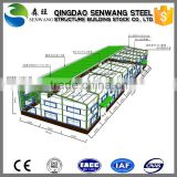 prefabricated steel structure warehouse shed workshop