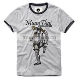promotional custom cheap 3xl muay thai t shirts