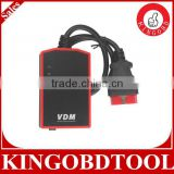 2015 best automotive scanner VDM UCANDAS V3.8 WIFI Car Diagnostic Tool With Honda Adapter Update Online Support Multi-languages