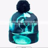 2015 new arrival autumn man latest top selling free size 100% cotton fancy beanie hat
