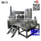Micmachinery High Quality cosmetic cream mixing machine industrial Emulsifier Blender high pressure homogenizer price