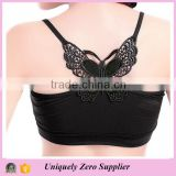 Women's Lace Butterfly Back Modal Short Camisole Tops