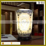 2016 factory direct sales ceramics table art crafts light with woods for furniture decor