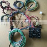 12 Fuse Complete Car light Wiring Harness kits, fog light relay wiring Harness with connectors, terminals