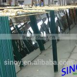 2 - 6mm Double Coated Aluminum Mirror Glass in standard stock sheet size or custom cut sizes