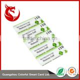 Factory wholesale price prepaid paper / pvc scratch card print                                                                                                         Supplier's Choice