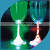 Hot sale 2015 LED flashing plastic cup, light up glowing LED cup, bar accessories and party or event supply