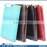 "Protective Case for 8"" Android Tablet, Crocodile Pattern Flip Wallet PC+PU Leather 8 inch Universal Tablet Leather Case"