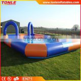 large sealed Inflatable water pool, inflatable Water Barrier for Bumper Boats/ water ball