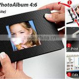 print at home just download free software with minicolor premium quality RC glossy paper photo book (antraite)4:6 by yourself