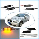Emark LED Signal Light for BMW LED Side Marker With Yellow Color LED Corner Lamp for E90 E81 E60