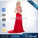 Mermaid Mother Of The Bride Long Sequins Beaded Evening Dresses Indian