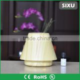 Private label battery operated ultrasonic essential oil and water electric diffuser